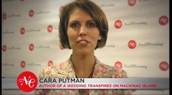 Cara Putman Talks About A Wedding Transpires on Mackinac Island on Novel Crossing