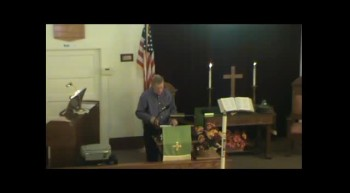 September 30 2012, Sunday Service, First Presbyterian, Lancaster WI Part 2
