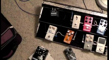 GUITAR PEDALS USED IN...