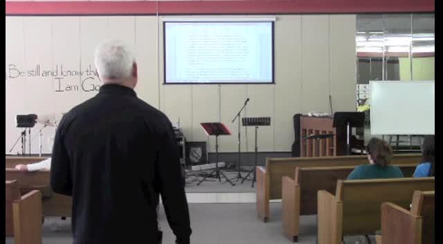 September 15, Sermon
