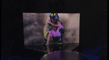 WOW, You've Got To See This!! Shadow Dance Tribute to Firefighters Will Leave You Breathless!