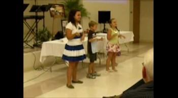 Rainbow Company sings A Place in the Choir