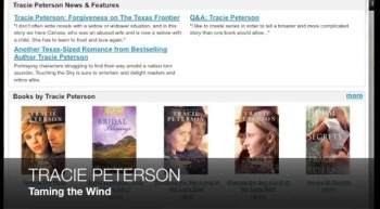Dee Henderson, Tracie Peterson, Kristin Billerbeck: Christian Fiction News (#109)