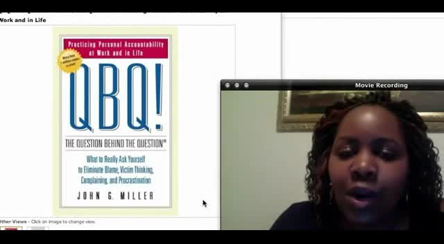 Book Review: QBQ The Question Behind The Question by John Miller