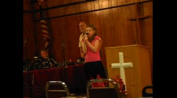 Kirsten 11 singing Amazing Grace...Check it out!