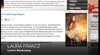 Laura Frantz LOVE'S RECKONING