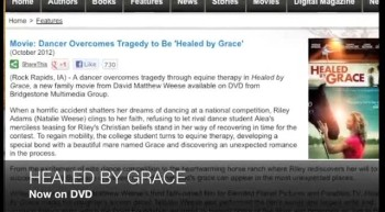 Family movie HEALED BY GRACE