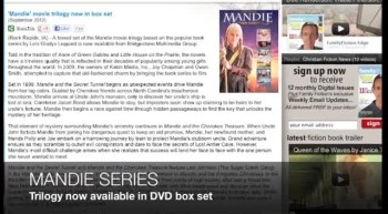 Mandie movie trilogy