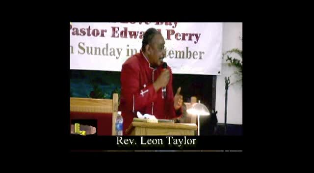 Rev. Leon Taylor