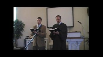 """Jesus, Thy Blood and Righteousness,"" Waggoner & MacLaren, First OPC Perkasie, PA 10/21/12"