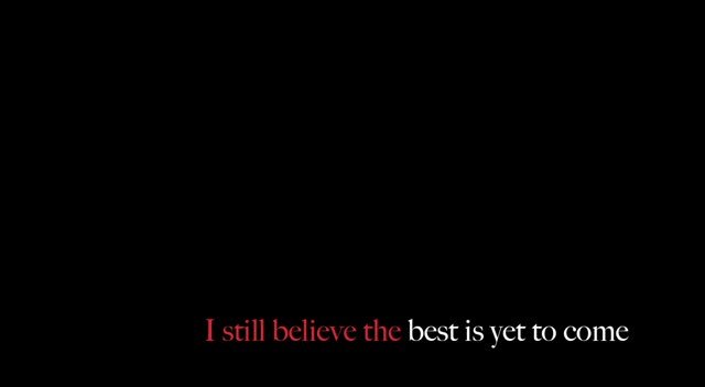 RED ~ Best Is Yet To Come ~ Lyrics