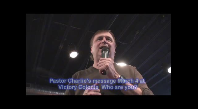 Pastor Charlie Blessed to be blessd