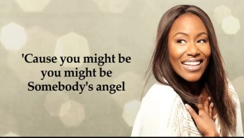 Mandisa - Somebody's Angel (Official Lyric Video)