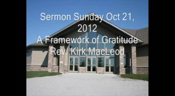 A Framework of Gratitude