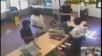 Police Officer's Final Act of Kindess Caught on Tape