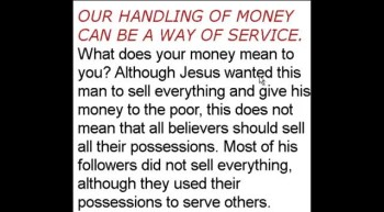 The Truth About Money From A Biblical Perspective