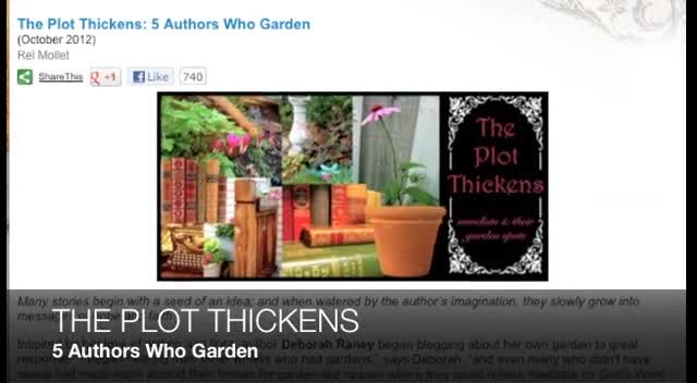 The Plot Thickens: 5 Authors Who Garden