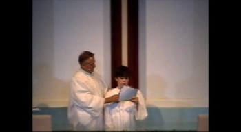 Boy with Autism gets baptized and shares testimony
