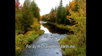 "Gospel Harmonica Hymn ""He Leadeth Me"" with lyrics."