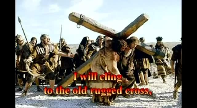 Gospel Harmonica*Hymn The Old Rugged Cross with lyrics.