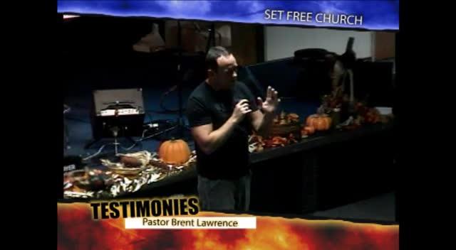 Pastor Brent Lawrence Testimony