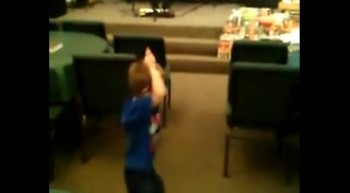 Four Year Old Dancing For The Lord