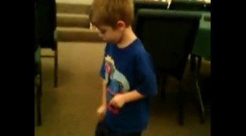 Four Year Old Son Dancing To 10,000 Reasons