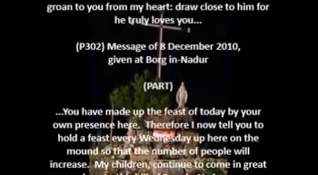 Rosary of 14 November 2012, Borg in-Nadur