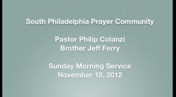SPPC Sunday Morning Service - 11/18/12