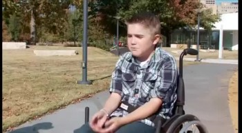 Boy in Wheelchair Scores Touchdown - Touching Moment!