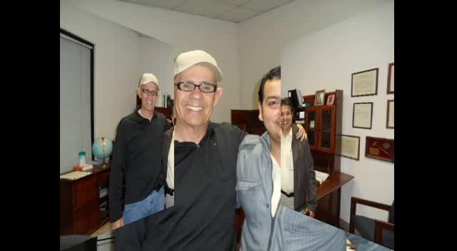 Raul Basurto and Jose Gutierrez visit Calexico Ca