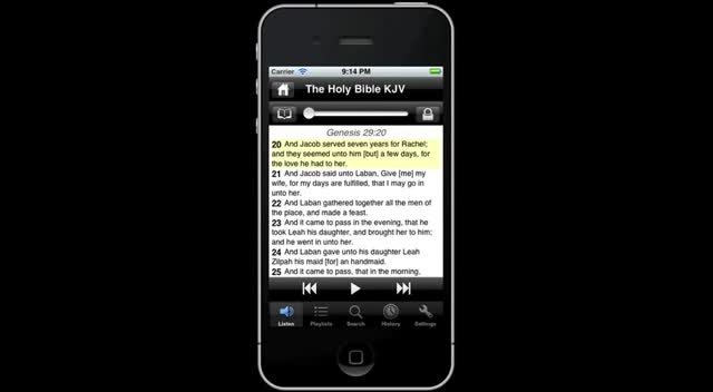 Scourby Bible APPs for iPhone App Android