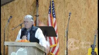 Pastor Bill Bodine 2012-11-18