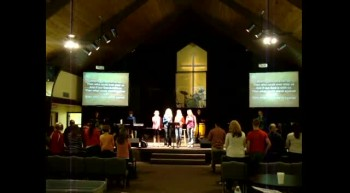 "Grace Baptist Youth Group Sings ""Our God' by Chris Tomlin"