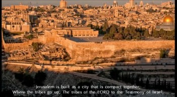 "Psalm 122 NKJV Scripture Song ""Pray for the Peace of Jerusalem"""