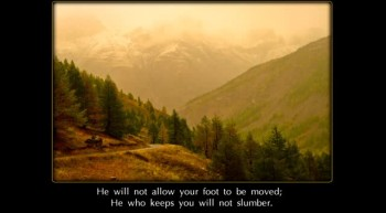 "Psalm 121 NKJV Scripture Song ""I Will Lift Up My Eyes to the Hills"""