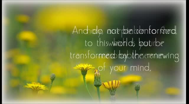 Romans 12:1-2 NKJV Scripture Song