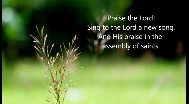 Psalm 149 NKJV Scripture Song