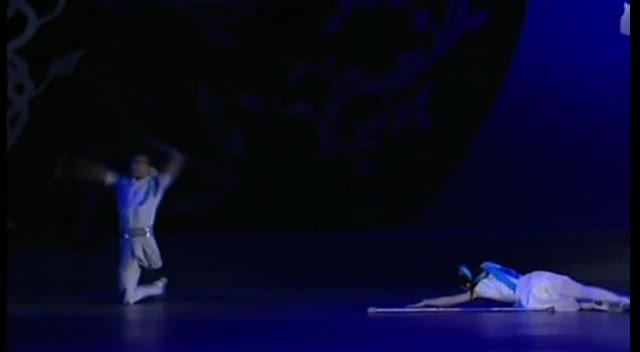 Amazing Dance - Man Without Leg and Woman Without Arm