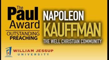 Pastor Napoleon Kaufman 2012 KOLA Award