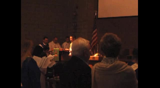 Scripture Readings - Vietnamese Fellowship 10th Anniversary (November 25, 2012)