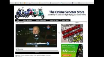Online Scooter Store Affiliate Opportunity (James L. Paris)