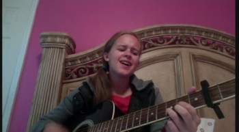 Catie Singing Come Now Is The Time To Worship