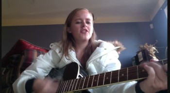 Catie singing Forever by Chris Tomlin