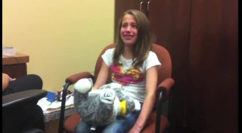 Deaf Girl's Sweet Reaction After Hearing Her Voice for the First Time - So Amazing!