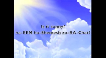 Hebrew Language Weather Talk