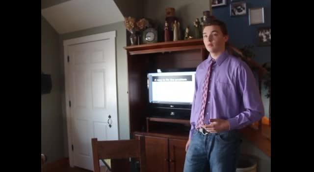 Nate Fafinski's Persuasive Speech