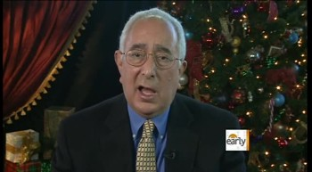 A Unique Perspective of Christmas from Ben Stein