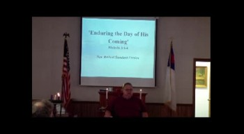 Blackwater UMC Sunday Sermon, December 9, 2012