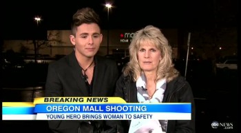 Young Hero Risks Life to Save Shoppers From Oregon Shooter - Amazing Story!